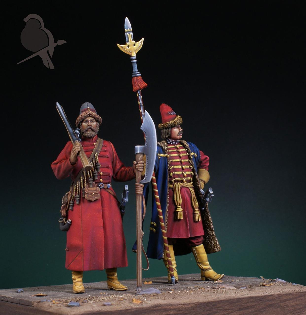 Dioramas and Vignettes: Strelets and Sotnik, 5th Prikaz, photo #7