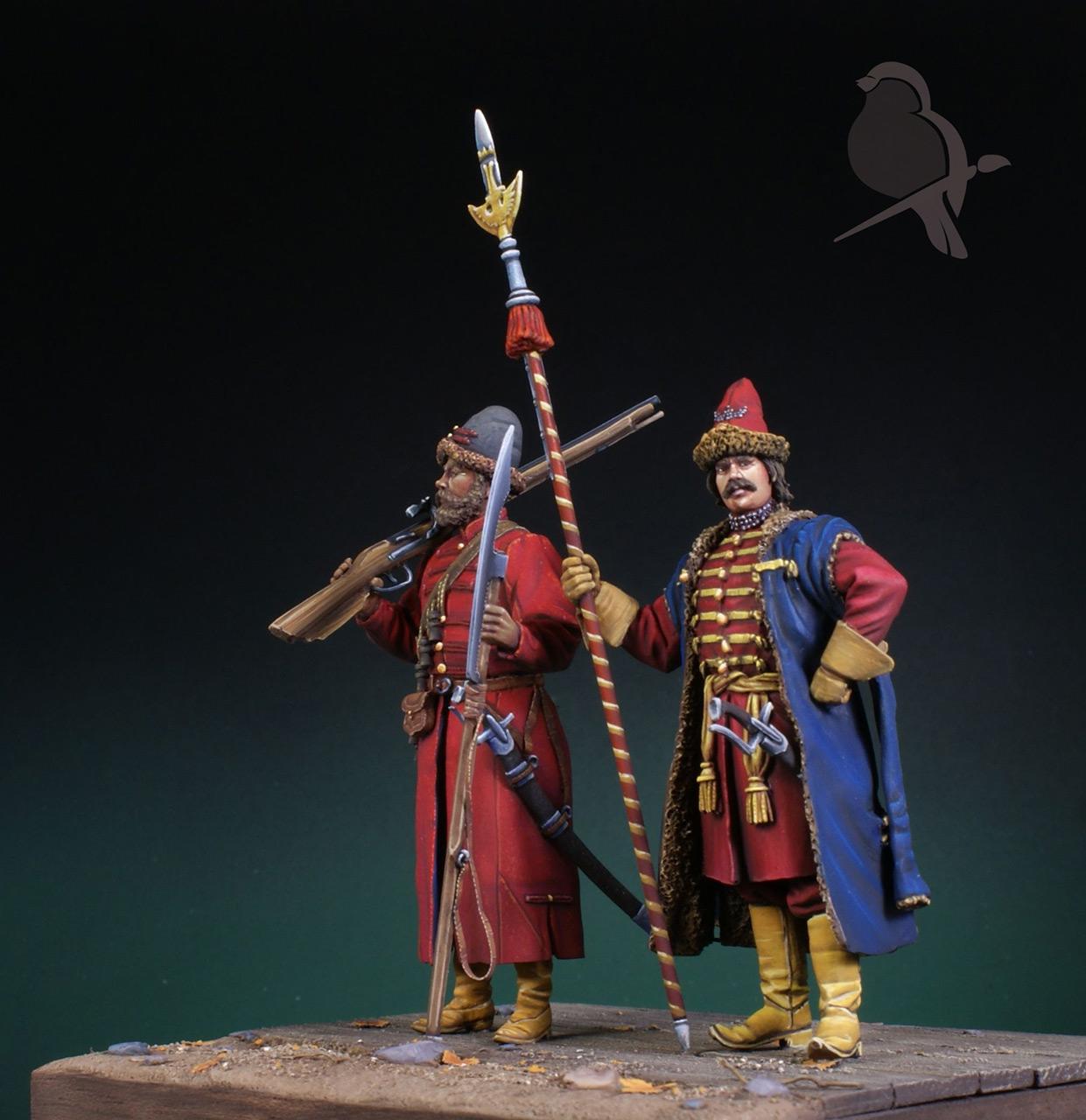 Dioramas and Vignettes: Strelets and Sotnik, 5th Prikaz, photo #8
