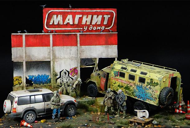 Dioramas and Vignettes: Corner Shop
