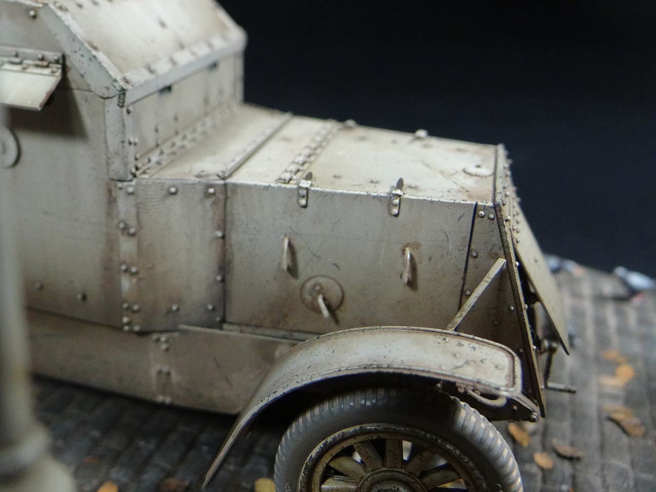 Dioramas and Vignettes: Austin armoured car, Red Army, photo #7