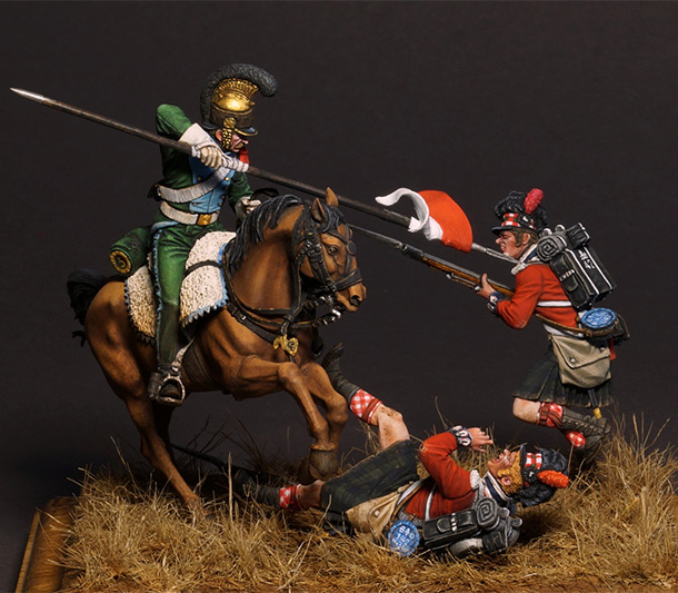 Dioramas and Vignettes: The Charge