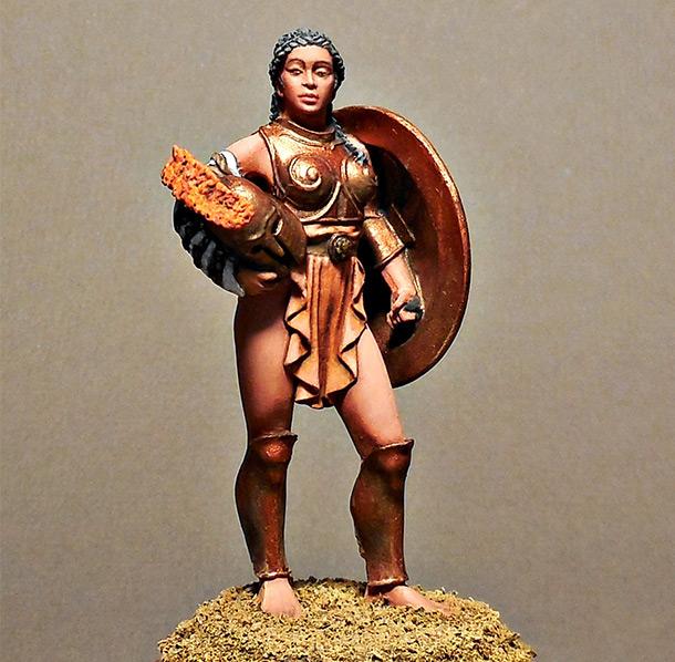 Figures: The Gladiatrix