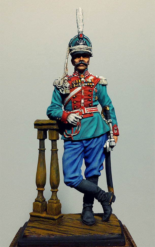 Figures: Colonel, Leib Guards dragoons. Russia, 1910-14