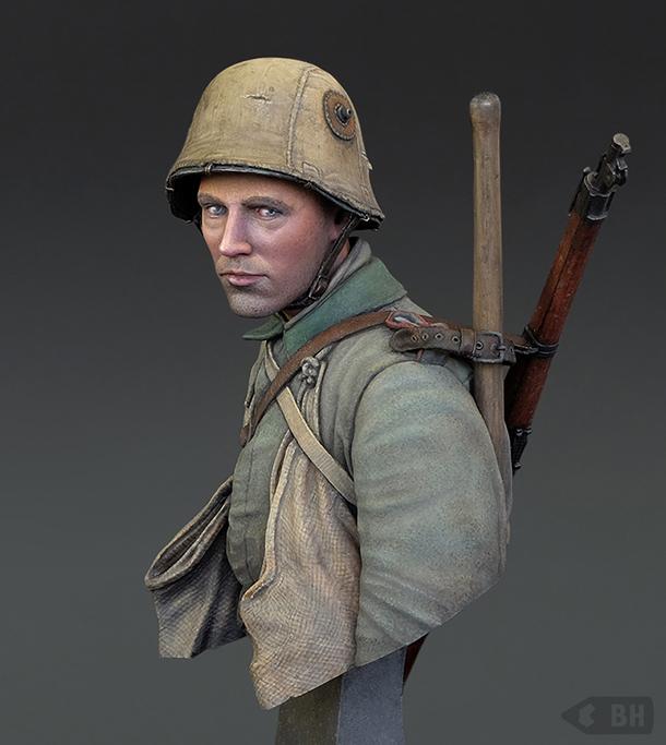 Figures: German Sapper Sturm-Btl. Nr. 5 (Rohr), 1916