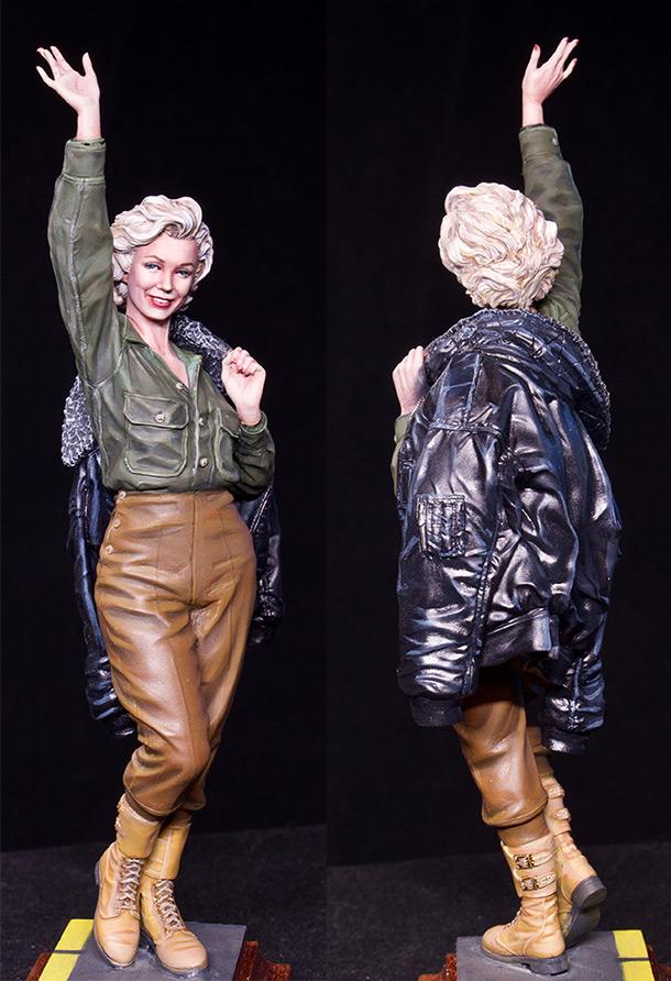 Figures: Marilyn Monroe. Korea, 1954