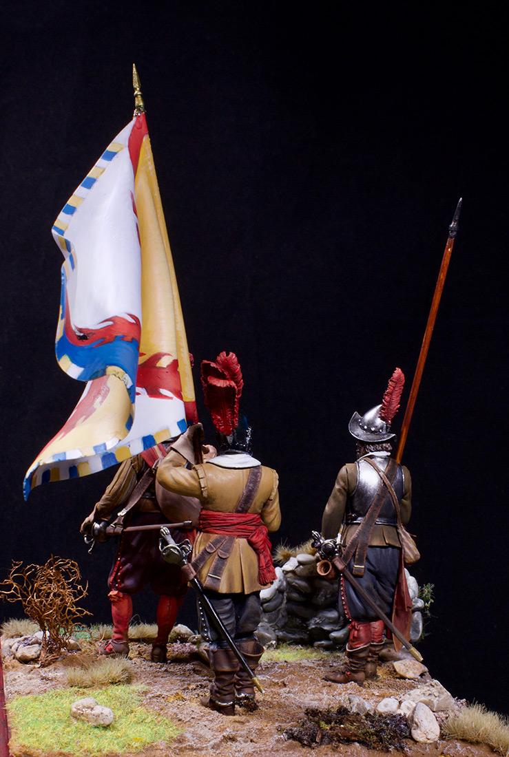 Figures: European soldiers. Thirty Years' War, photo #9