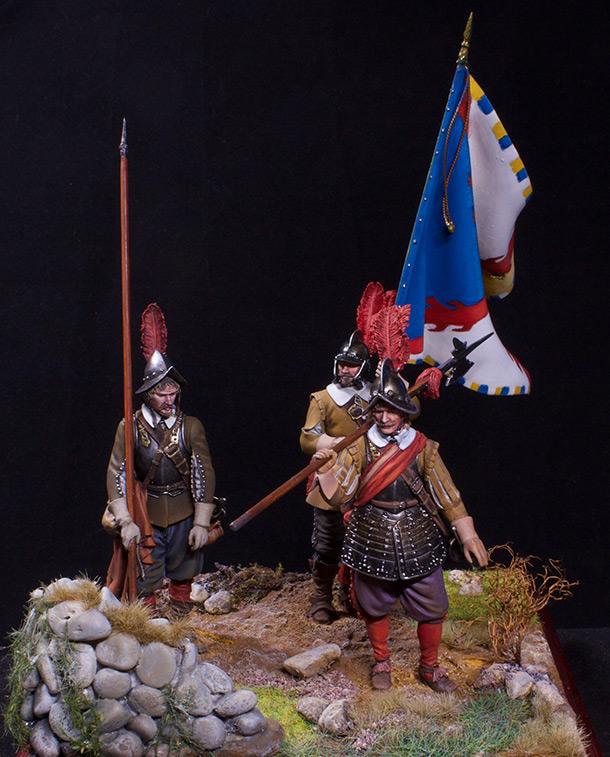 Figures: European soldiers. Thirty Years' War