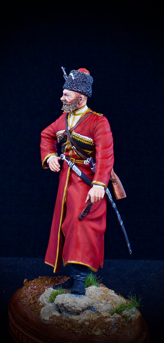 Figures: Cossack of the Emperor's convoy, photo #1