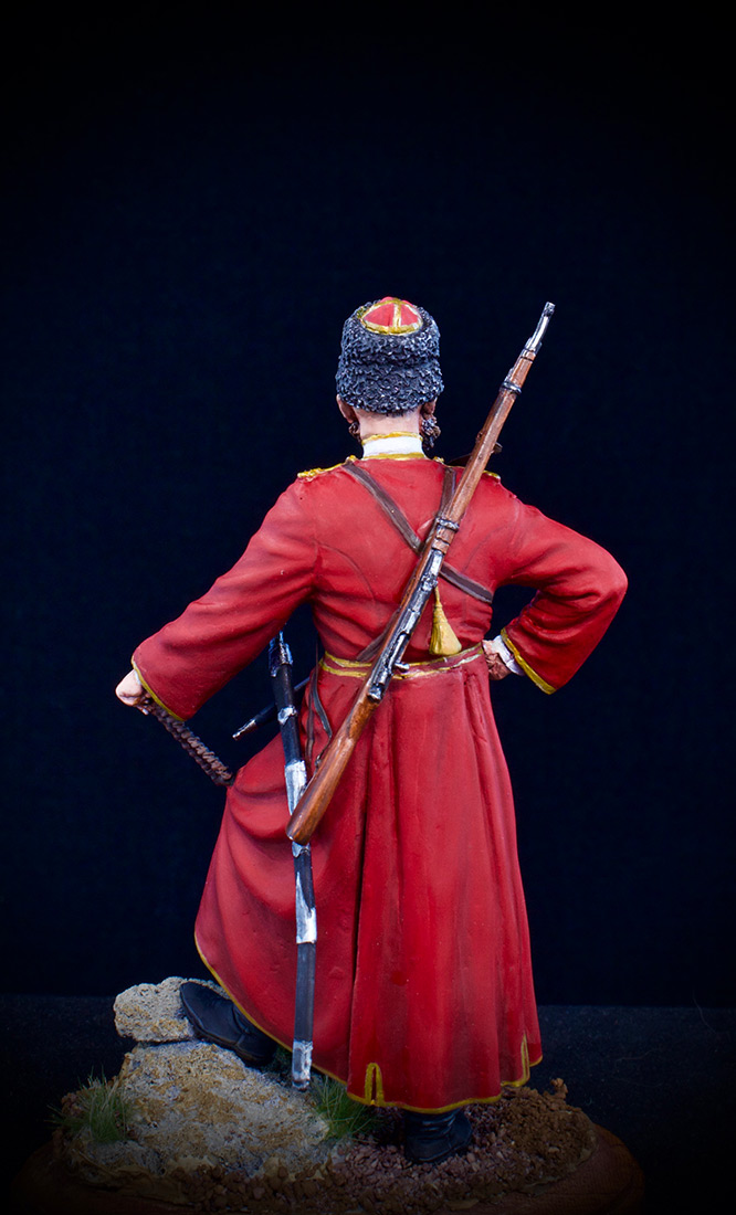 Figures: Cossack of the Emperor's convoy, photo #2