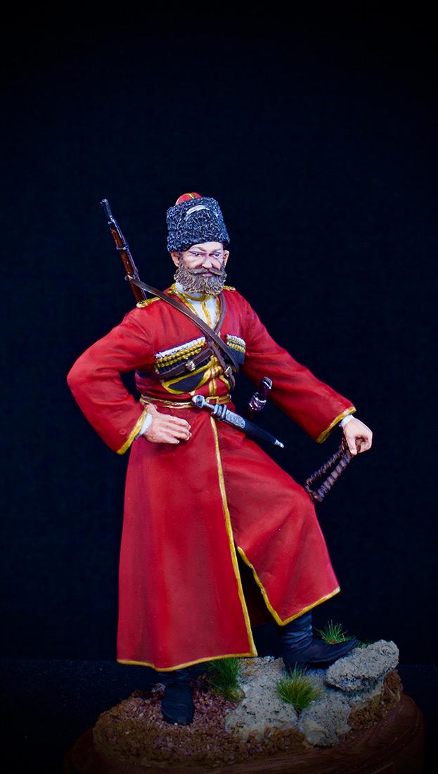 Figures: Cossack of the Emperor's convoy, photo #3