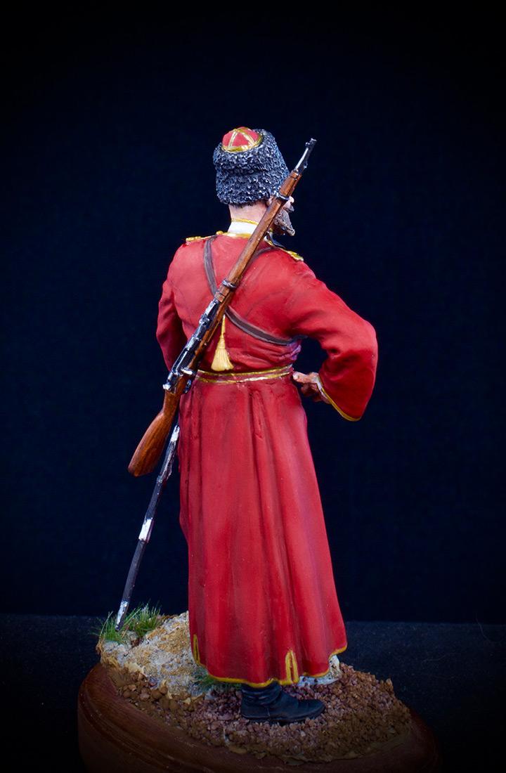 Figures: Cossack of the Emperor's convoy, photo #4