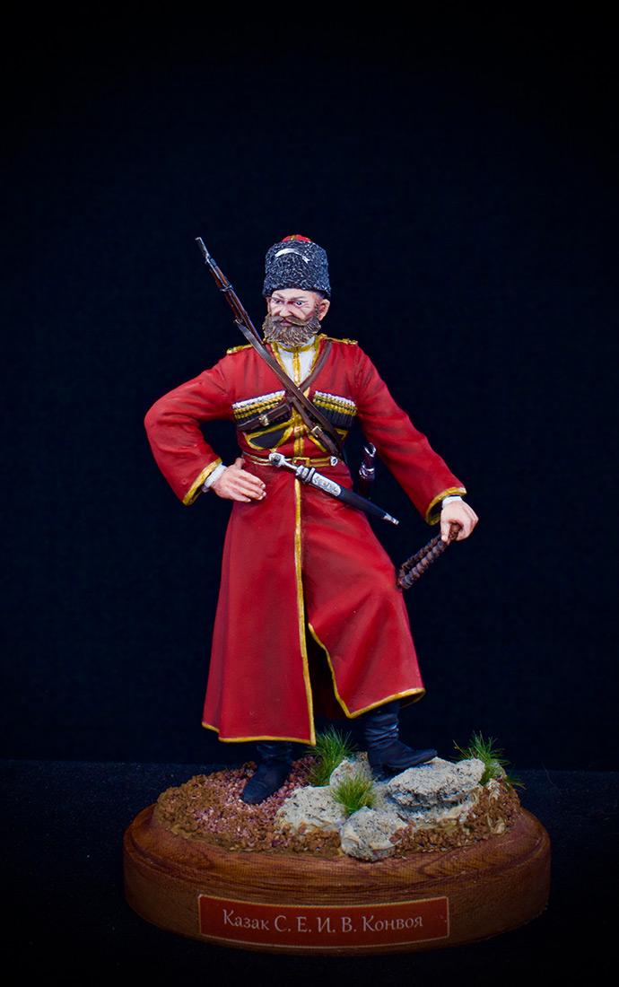 Figures: Cossack of the Emperor's convoy, photo #5