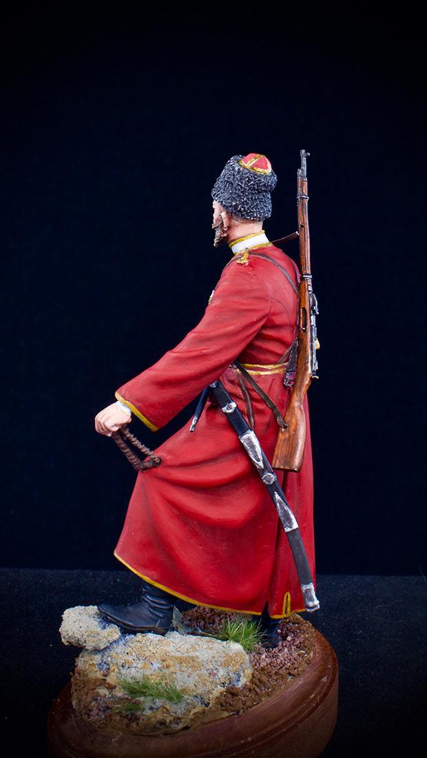 Figures: Cossack of the Emperor's convoy, photo #6