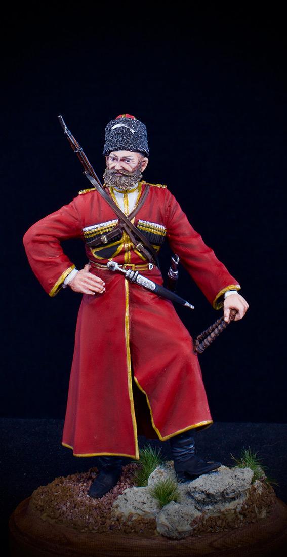 Figures: Cossack of the Emperor's convoy, photo #7