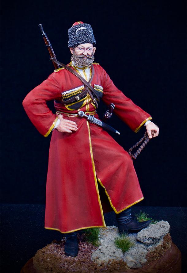 Figures: Cossack of the Emperor's convoy