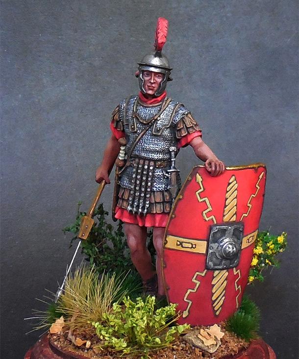 Figures: Roman legionary, I A.D.