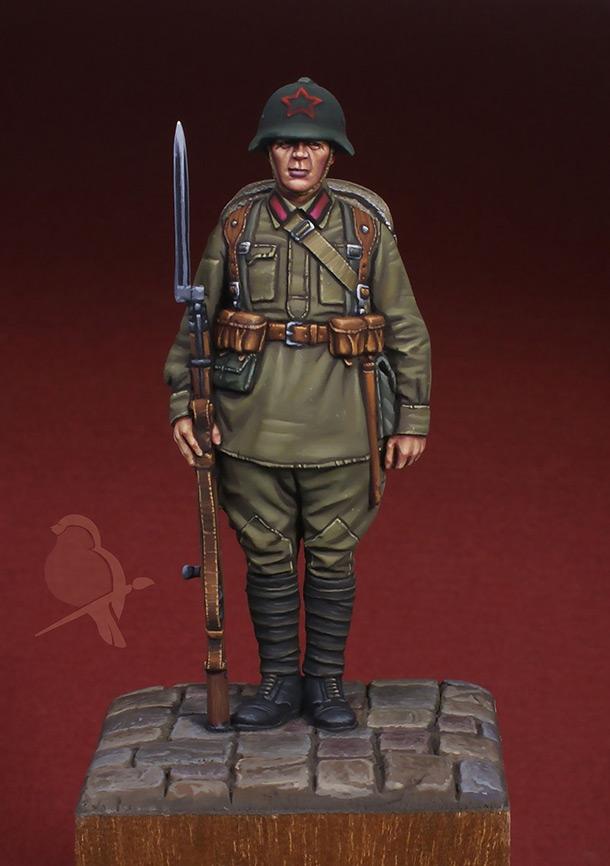 Figures: Red Army infantryman, 1939-41