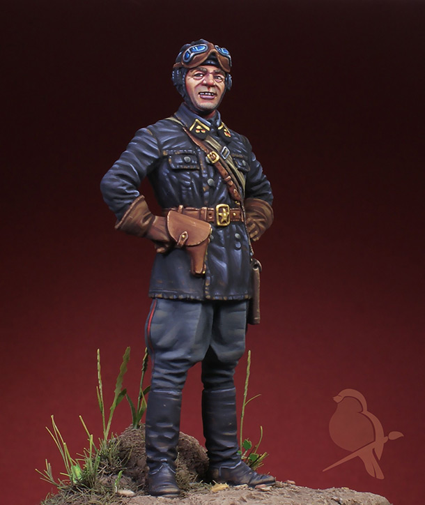 Figures: Lieutnant, Red Army armoured troops, 1939-42