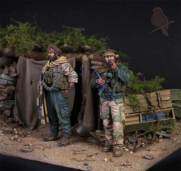 Dioramas and Vignettes: Tora Bora. 2001