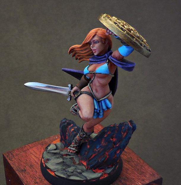 Miscellaneous: Warrior girl
