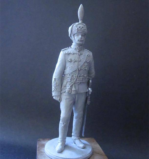 Sculpture: Hussar, 1914