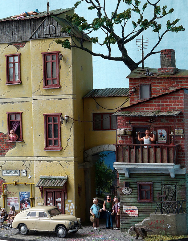 Dioramas and Vignettes: Sovietskaya street