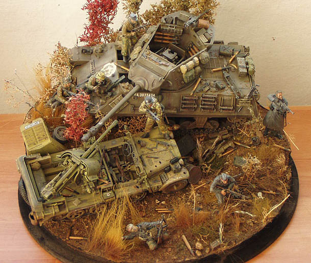 Dioramas and Vignettes: Pigeon Hunting