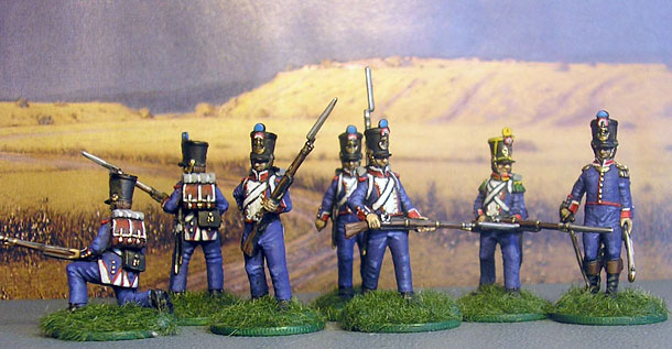 Figures: French Line Infantry, 1814