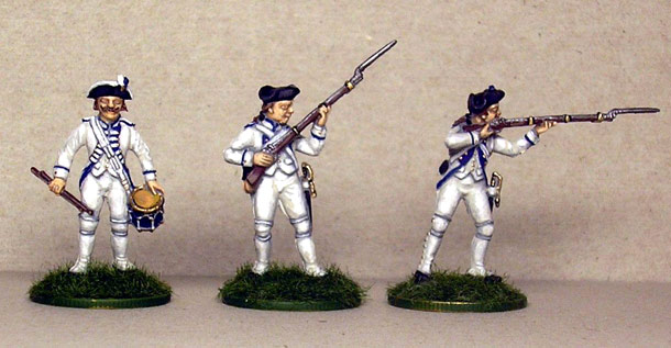Figures: French Soldiers, Independence War