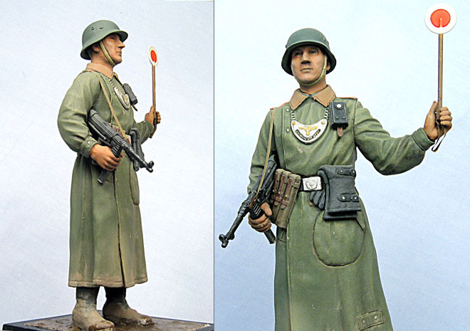 Figures: German Feldgendarme, photo #2