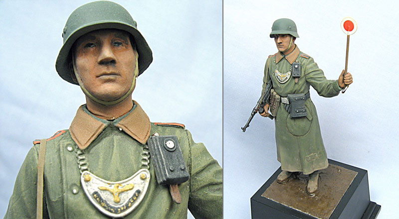 Figures: German Feldgendarme, photo #3