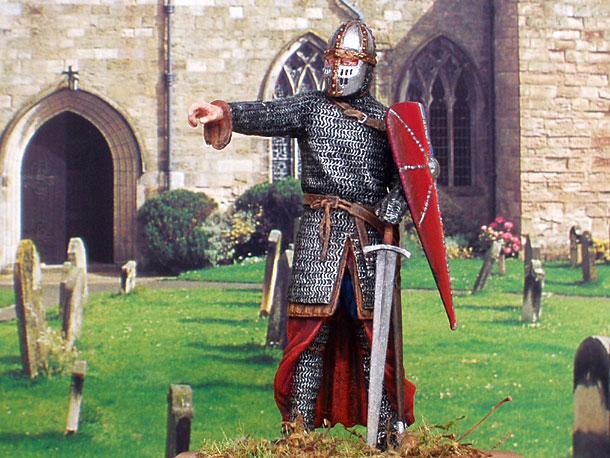 Figures: Norman warrior