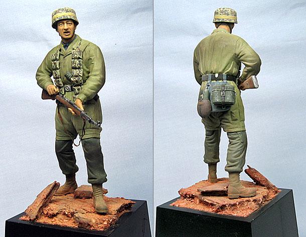 Figures: Fallschirmjaeger from Monte-Cassino