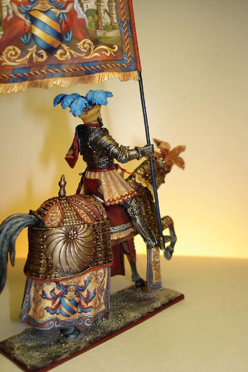 Figures: Knight, Maximilian epoque, photo #2