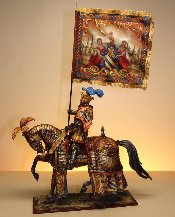 Figures: Knight, Maximilian epoque