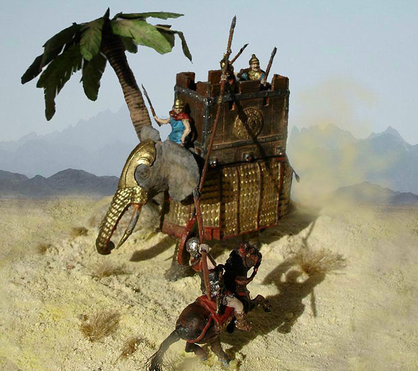 Dioramas and Vignettes: Ancient tank