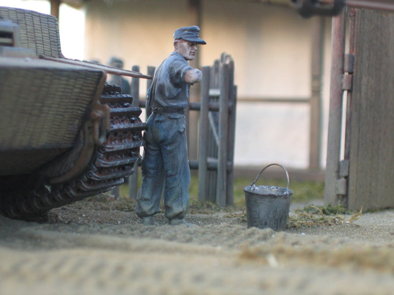 Dioramas and Vignettes: In rear of enemy, photo #12