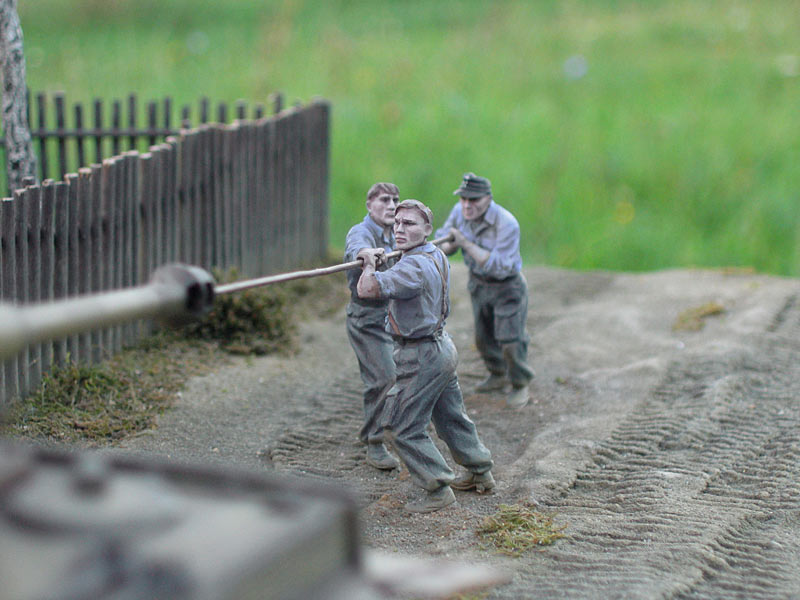 Dioramas and Vignettes: In rear of enemy, photo #13