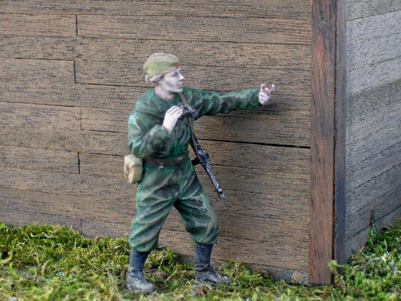 Dioramas and Vignettes: In rear of enemy, photo #7