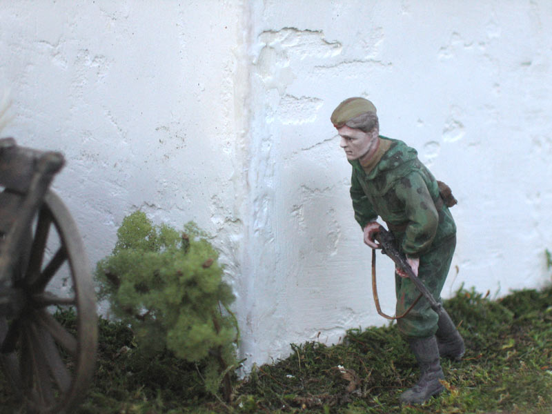 Dioramas and Vignettes: In rear of enemy, photo #8