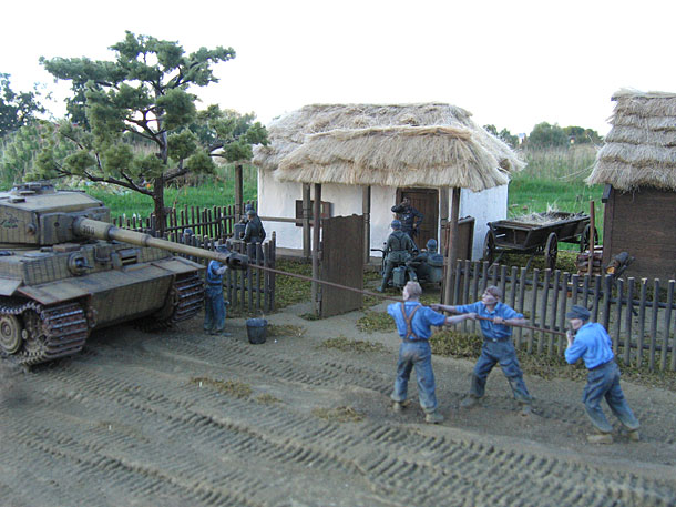 Dioramas and Vignettes: In rear of enemy