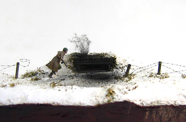 Dioramas and Vignettes: The Feat of Alexander Matrosov