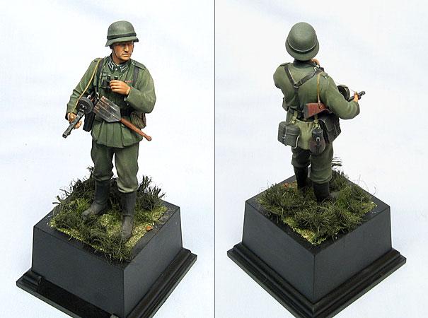 Figures: Wehrmacht Oberfeldwebel, photo #1