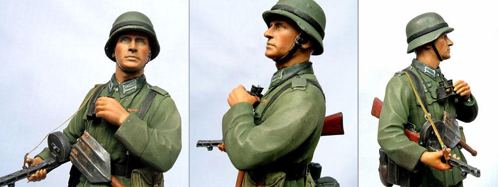 Figures: Wehrmacht Oberfeldwebel, photo #3
