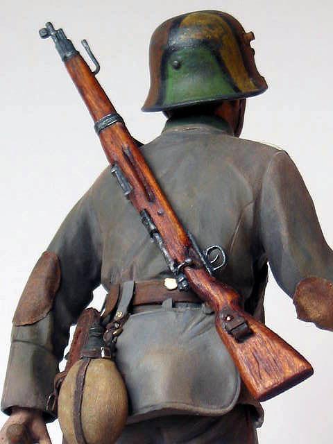 Figures: German stormtrooper, 1917-18, photo #10