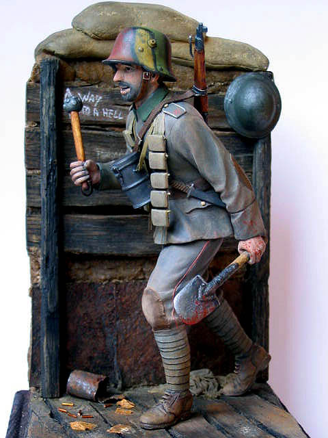 Figures: German stormtrooper, 1917-18, photo #13