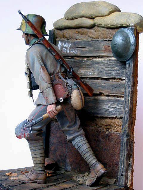 Figures: German stormtrooper, 1917-18, photo #14