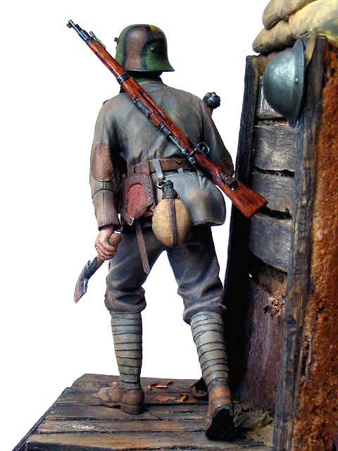 Figures: German stormtrooper, 1917-18, photo #15