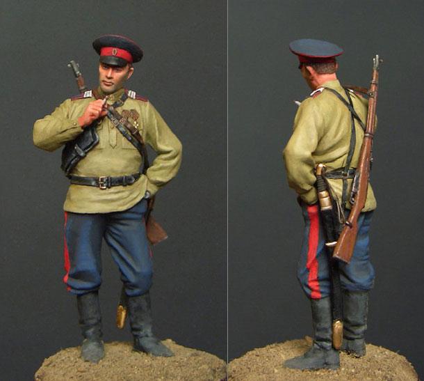 Figures: Don cossack, 1919-1920