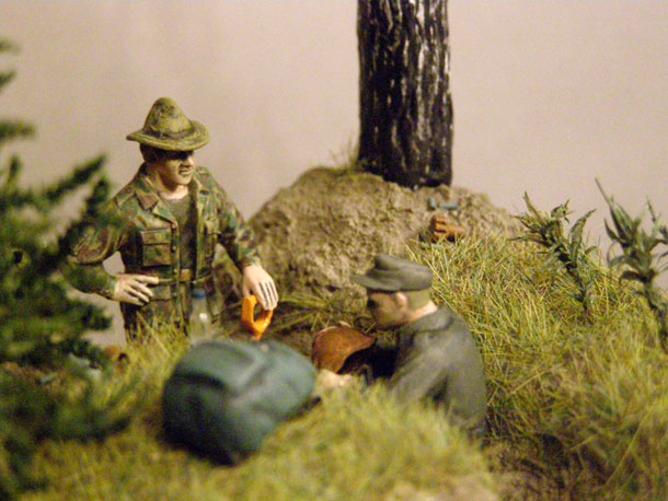 Dioramas and Vignettes: There was a war...